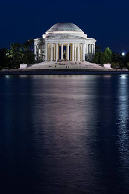Jefferson Memorial Photograph - Jefferson Memorial Washington D C by Steve Gadomski