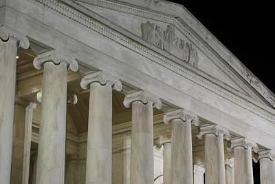 Statesman Photograph - Jefferson Memorial - Washington Dc - 01131 by DC Photographer