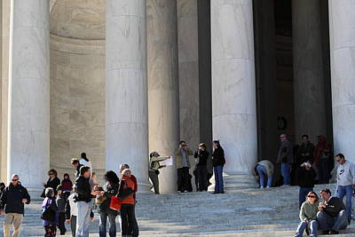 Statesman Photograph - Jefferson Memorial - Washington Dc - 01132 by DC Photographer