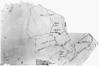 1796 Photograph - Jefferson: Monitcello, 1796 by Granger