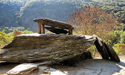 Photograph - Jefferson Rock At Harpers Ferry by Patricia Januszkiewicz