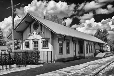 Photograph - Jefferson Station 7k02041b by Guy Whiteley