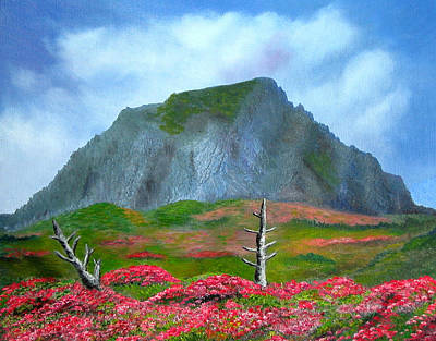 Reggie Painting - Jeju Island  by Reggie Hart