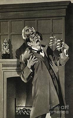 Jekyll And Hyde Story Illustration, 1930 Art Print by British Library