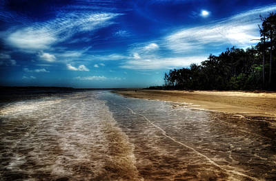 Photograph - Jekyll Island Beach by Greg and Chrystal Mimbs