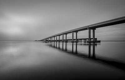 Photograph - Jekyll Island Bridge by Debra and Dave Vanderlaan