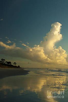 Photograph - Jekyll Island Georgia Sky Reflections by Ben Sellars