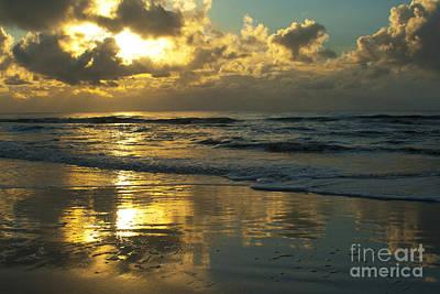 Photograph - Jekyll Island Golden Sunrise by Ben Sellars
