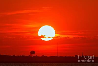 Photograph - Jekyll Island Sunset by Adam Jewell