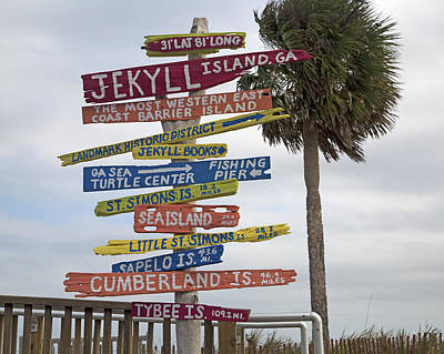 Jekyll Island Where To Go Art Print by Betsy Knapp