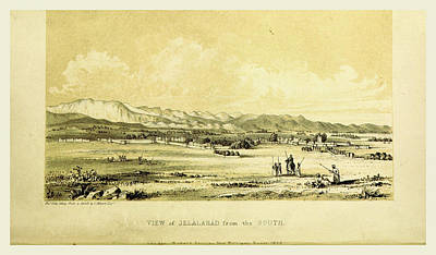 Jelalabad, Narrative Of Various Journeys In Balochistan Art Print by Litz Collection