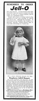 Photograph - Jell-o Advertisement, 1905 by Granger