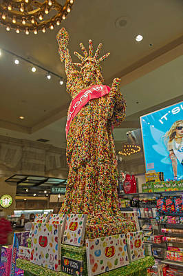 Photograph - Jelly Bean Statute by Willie Harper
