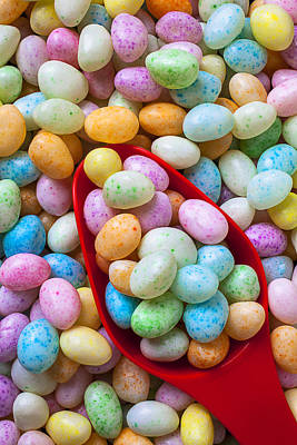 Photograph - Jelly Beans by Garry Gay