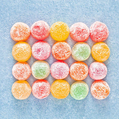 Jelly Sweets Art Print by Tom Gowanlock