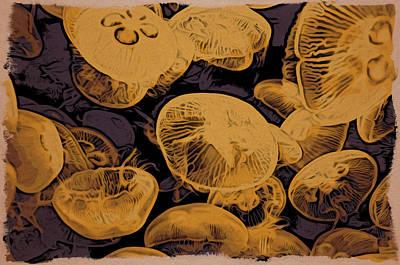 Jellyfish Kingdom Art Print