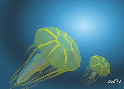 Rolling Stone Magazine Covers - Jellyfish by Landrell Folse