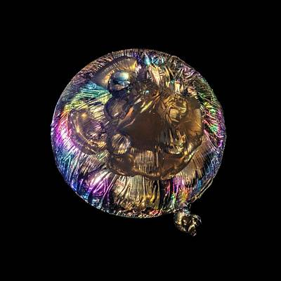 Jellyfish Sculpture In Polarized Light Art Print