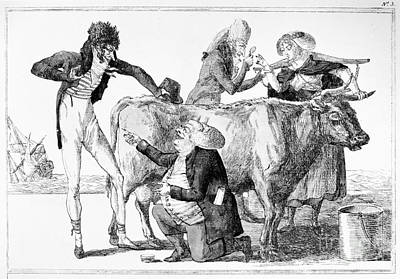 1796 Photograph - Jenner: Vaccination, 1796 by Granger