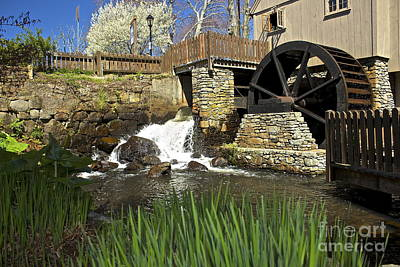 Photograph - Jenney Grist Mill by Amazing Jules
