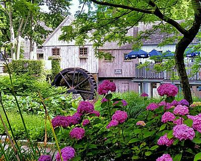 Photograph - Jenney Grist Mill by Janice Drew