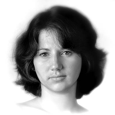 Jennifer Art Print by Dennis James