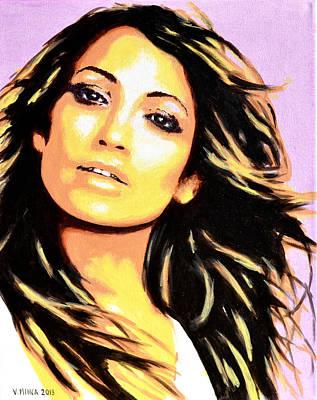 Jennifer Lopez Art Print