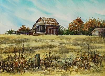 Jennings Barn Art Print