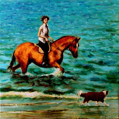 Jennings Beach  Art Print