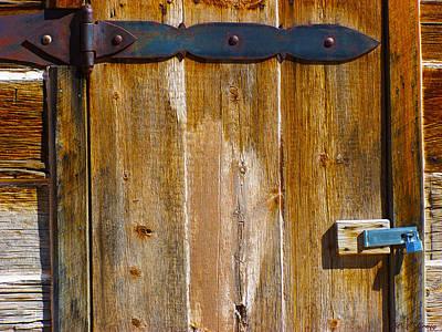 Photograph - Jenny Bar The Door by Peri Craig
