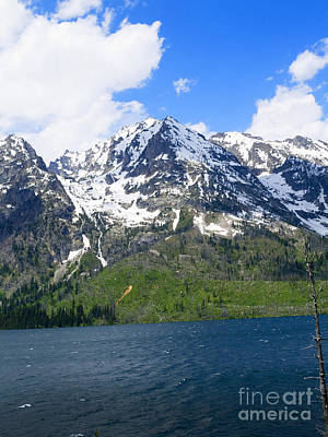Photograph - Jenny Lake In Wyoming by Brenda Kean