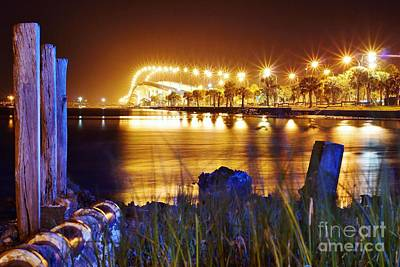 Photograph - Jensen Causeway From N W Side by Lynda Dawson-Youngclaus