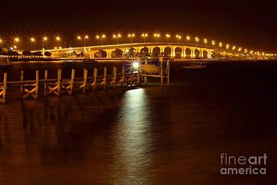 Photograph - Jensen Causeway W - Snook Nook Light by Lynda Dawson-Youngclaus