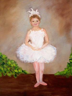 Painting - Jensen The Ballerina by Jenell Richards