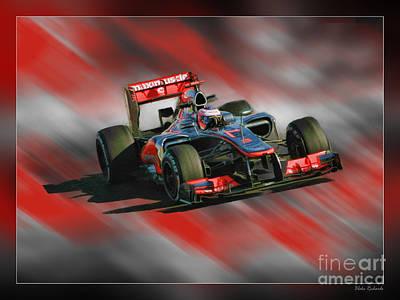 Photograph - Jenson Button  by Blake Richards