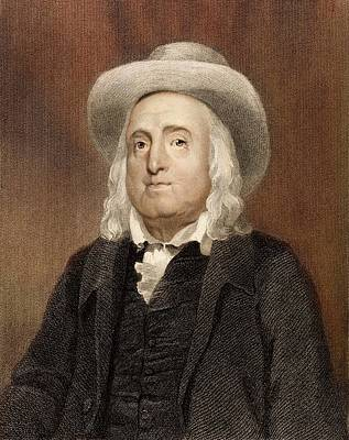 18th Century Photograph - Jeremy Bentham by Paul D Stewart