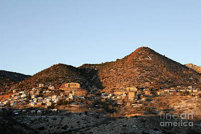 Photograph - Jerome Arizona At Sunrise by Ron Chilston