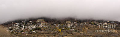 Photograph - Jerome Arizona Beneath The Clouds by Ron Chilston