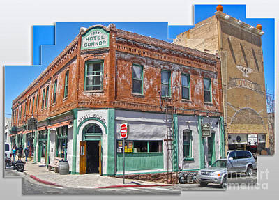 Jerome Arizona - Hotel Conner - 01 Art Print by Gregory Dyer