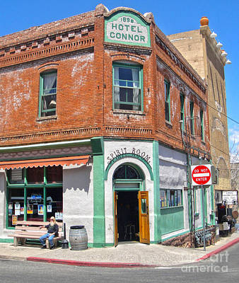 Jerome Arizona - Hotel Conner - 02 Art Print by Gregory Dyer