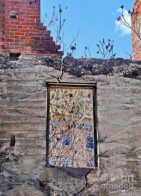 Jerome Arizona - Ruins - 02 Art Print by Gregory Dyer
