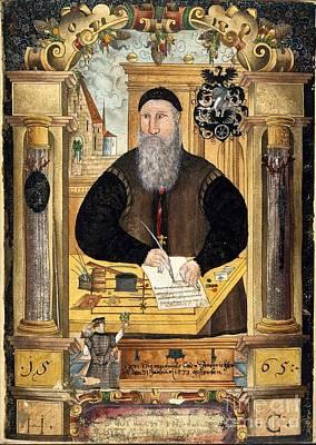 Jerome Coeler The Elder, German Judge Art Print by British Library