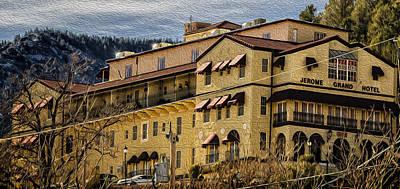 Digital Art - Jerome Grand Hotel No.20 by Mark Myhaver