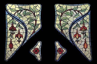 Coloured Glass Photograph - Jeroni Granell House. Spain. Barcelona by Everett