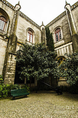 Photograph - Jeronimos Monastery Courtyard by Deborah Smolinske