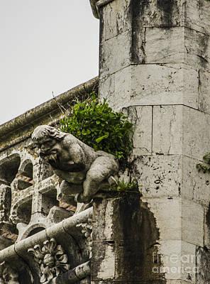 Photograph - Jeronimos Monastery Gargoyle 2 by Deborah Smolinske