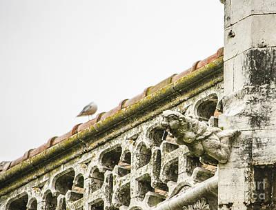 Photograph - Jeronimos Monastery Gargoyle 3 by Deborah Smolinske