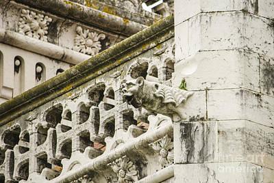 Photograph - Jeronimos Monastery Gargoyle 5 by Deborah Smolinske