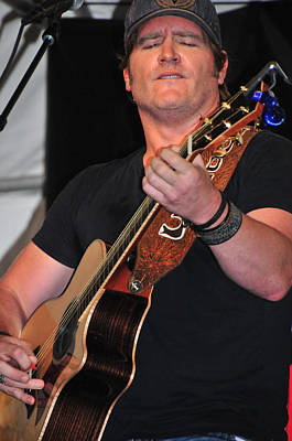 Photograph - Jerrod Niemann by Mike Martin