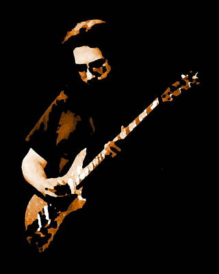 Jerry And His Guitar Art Print